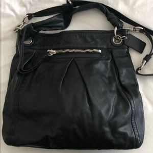 Coach boho tote and crossbody bag